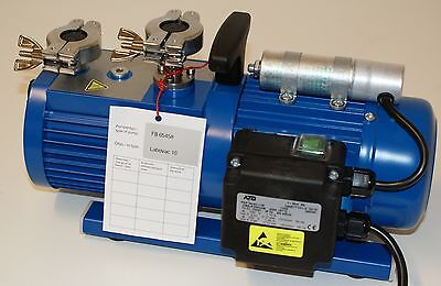 Fisher Scientific / ILMVAC FB65458 / Double Stage Rotary Vane Vacuum Pump (New)