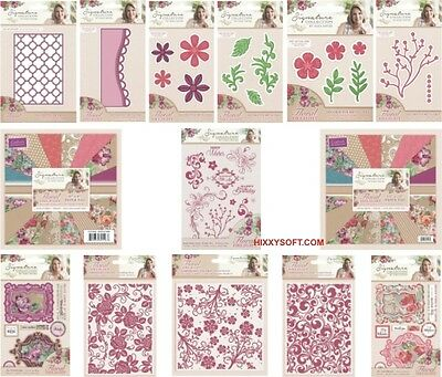 Crafters Companion Sara Davies Floral Delight Collection Choose Dies Paper More