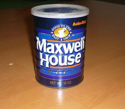Vintage Maxwell House Coffee Can 13oz Automatic Drip