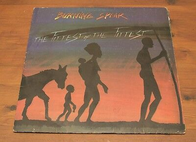 Burning Spear: The Fittest Of The Fittest - Vinyl / Lp - Rdc 1077681