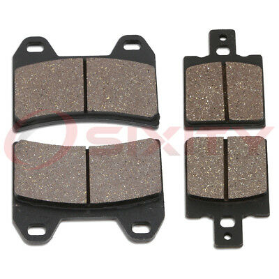 Front + Rear Organic Brake Pads 2003-2004 Ducati Monster 620 Set Full Kit og