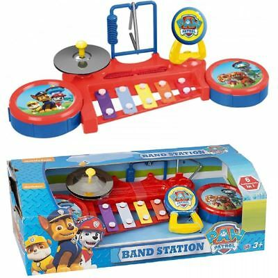 Paw Patrol Music Station Xylophone Drums Maracas Kids Musical Instrument Toy