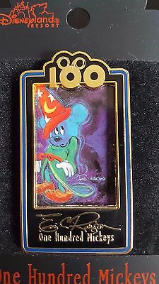 DISNEY ONE HUNDRED MICKEYS . Sorcerer Mickey in the Dark... LIMITED EDITION Pin