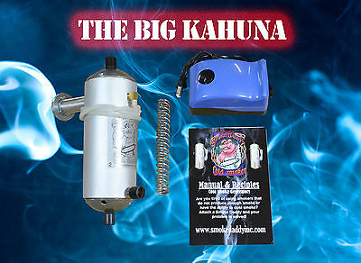 Smoke Daddy Cold Smoker Generator Big Kahuna BBQ Pellet grill smoker