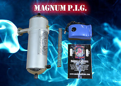 Smoke Daddy Magnum PIG Cold Smoker Generator w/ Pump for ANY Grill/Smoker XXL
