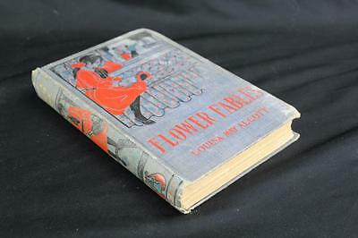 Flower Fables by Louisa May Alcott Hurst & Co. w/Very Rare Cover Early Edition?