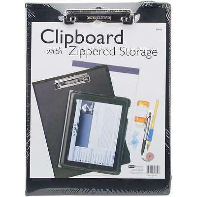 Clipboard With Zippered Storage 1/Pkg Black 085288616648