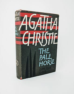 The Pale Horse by Agatha Christie - First Edition 1961