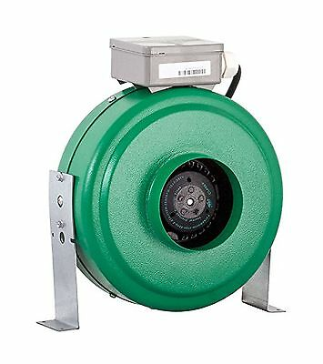 Active Air 4 Inch In-Line Fan 165 CFM New