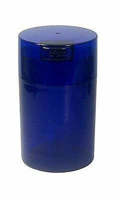 Tightpac America 6-Ounce Vacuum Sealed Dry Goods Storage Container Cobalt... New