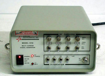APPLIED INSTRUMENTS 5112 MULTI-CARRIER SIGNAL GENERATOR 7/15/25/35MHz 5112Si