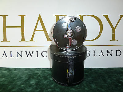 Hardy Cascapedia Lwh 4/0 Original Fly Fishing Salmon Reel - New In Leather Case