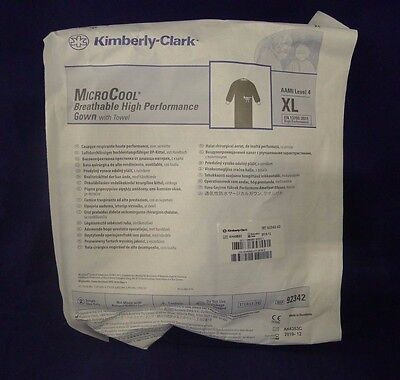 Kimberly-Clark 92342-02 MicroCool Breathable High Performance Gown w/ Towel XL
