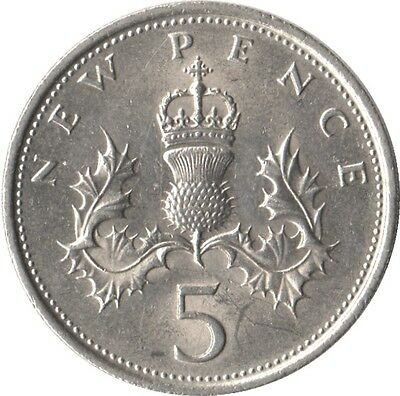 5p Five Pence Coins 1990 - 2016 Choose your Dates