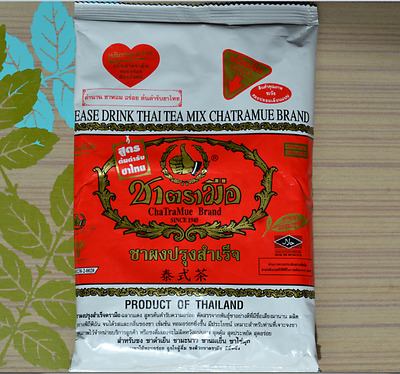 Thai MIX TEA 190g NUMBER ONE CHA TRA MUE BRAND THAI  HOT / COLD DRINK HALAL