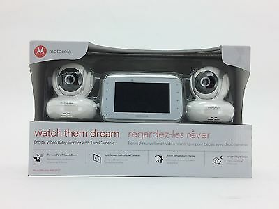 Watch Them Dream Digital Video Baby Monitor (2 Cameras) by Motorola