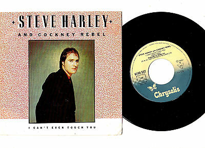 "Steve Harley & Cockney Rebel.i Can't Even Touch You.portugese Orig 7""& Pic/sl.ex"