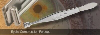 ss batl eye meibomian gland b expressor forceps to remove deep meibum dry lids