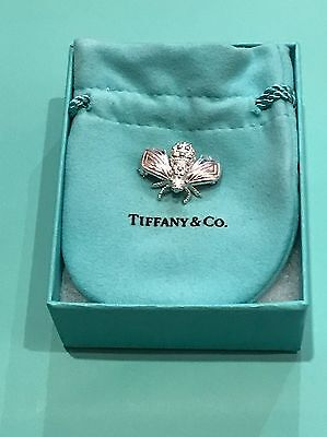 ***TIFFANY & CO. Sterling Silver 925 BUMBLE BEE Brooch PIN *UNIQUE* RARE***