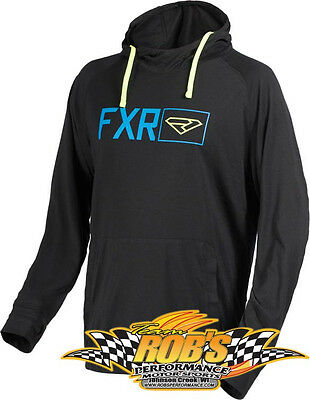 New 2017 Fxr Mens Terminal Tech Pullover Hoodie Black Large 170913-1040-13