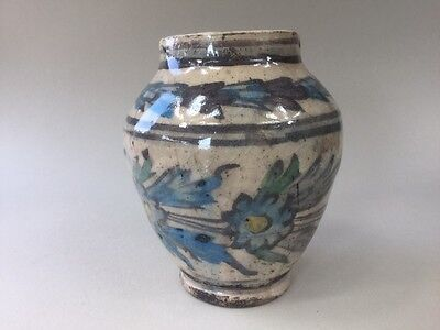 19th/20th Century Persian Middle Eastern Ceramic Pottery Vase
