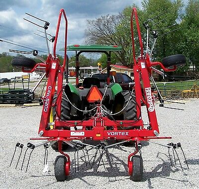 New Enrossi 19 ft.  Hydraulic Tilt & Fold Hay Tedder---Can ship @ $1.85 Mile
