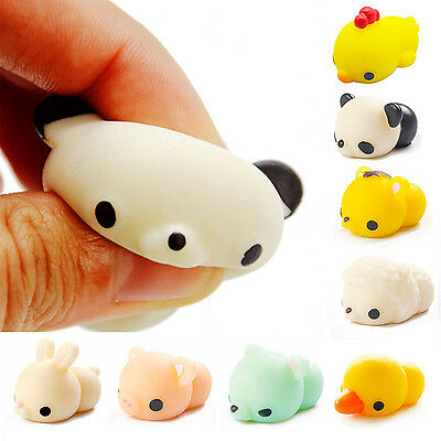 Anti Stress Pig Soft Reliever Ball Autism Mood Squeeze Toy Kids Child Xmas Gifts