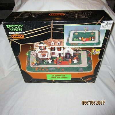 Lemax Spooky Town Collection A Night Of Trick Or Treat Halloween Works