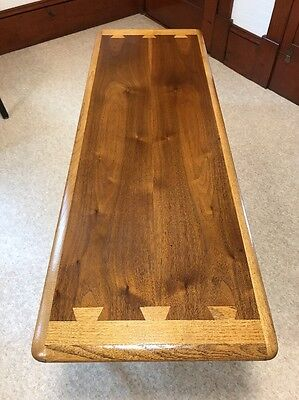 Beautiful Vintage Lane Solid Wood Mid Century Coffee Table
