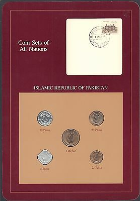 Coin Sets of All Nations Islamic Republic of Pakistan 1984-1986 BU