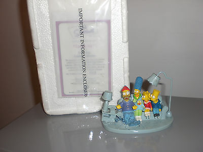 The SIMPSONS Couch Ice couch Gags Sculpture Collection Hamilton Sculpture no 338