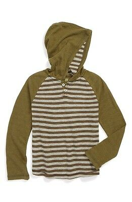 Tucker + Tate NORDSTROM NEW Boys Green Size Large L Striped Sweater $38 044