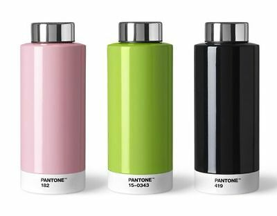 Pantone Universe Drinking Bottle in 8 colours. Combination of Steel & Style