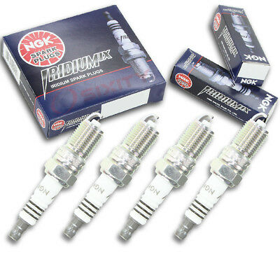 4pcs Crusader 7.4L MPI NGK Iridium IX Spark Plugs Classic Kit Set Engine bg
