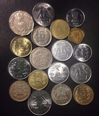 Old India Coin Lot - 1943-Present - 18 Excellent Coins - Lot #M18