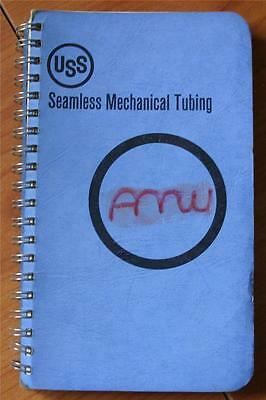 Seamless Mechanical Tubing by United States Steel 1966 Paperback Good