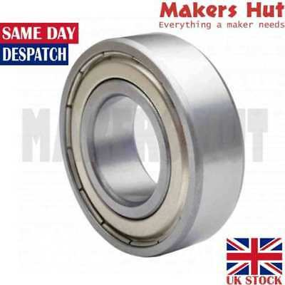 6200 ZZ 10mm x 30mm x 9mm Shielded Deep Groove Ball Bearing 6200ZZ