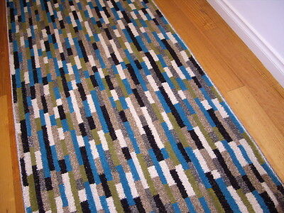 Hallway Runner Hall Runner Rug 3 Metres Long Modern Multi Colored FREE DELIVERY