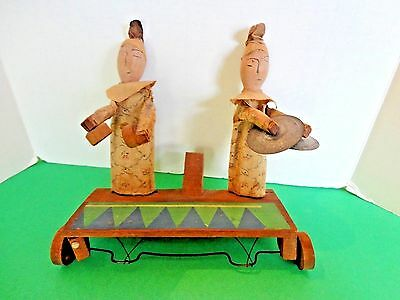 Rare Antique Japanese  Wooden  Toy Figure c1920?
