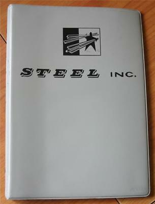 Steel Inc. Specifications-  Bars Shapes Plates Sheets Prices Book Industrial VG