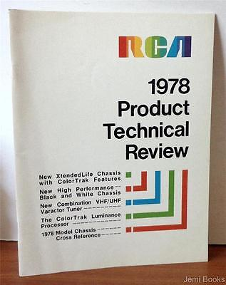RCA 1978 Product Technical Review - New VHF And UHF Combination Varactor Tuner