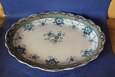 Antique Ford & Sons Large platter, meat plate.