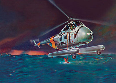 Revell H-19 Rescue Helicopter 1/48 scale model kit new 5331 *