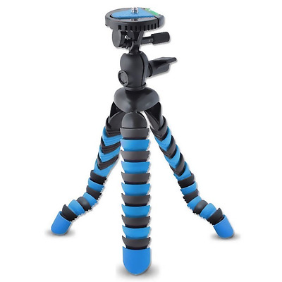 AVAWO Universal 12-Inch Mini Flexible Tripod with Wrapable Leg Quick Release Pla