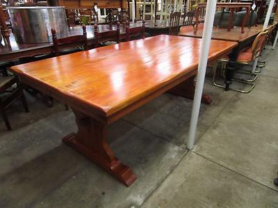 D17042 Large Solid Timber Dining Table