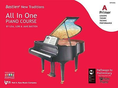 Bastien New Traditions All in One Piano Course Primer A - Kjos WP450A NEW