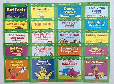First Little Readers Lot 20 Level C Childrens Learn to Read Leveled Books