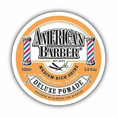 American Barber Deluxe Pomade 100Ml Free Shipping