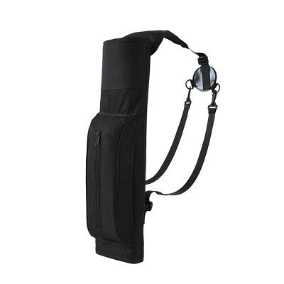 Large Back Archery Quiver Arrow Bag with Adjustable Strap Outdoor Hunting