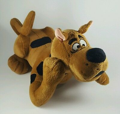 Talking Animated Scooby Doo Plush - Laying Down - Tail and Mouth Move 10 Phrases
